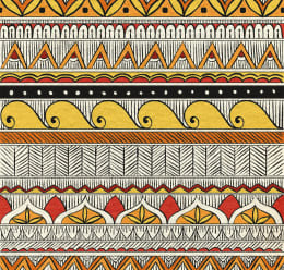 Indian Ethnic Fabric Pattern