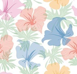 Seamless Vector Pattern: Floral