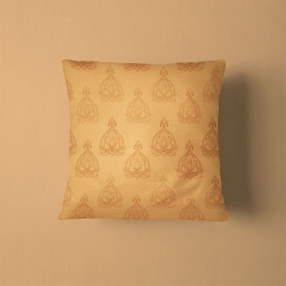 Ethnic Block Print Pillow