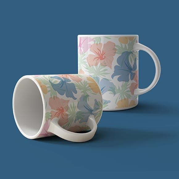 Blooming Flower Coffee Mugs