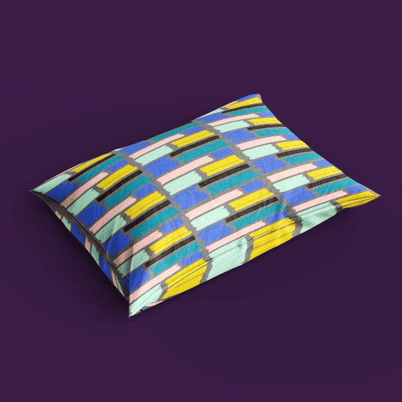 Abstract Art Print Pillow