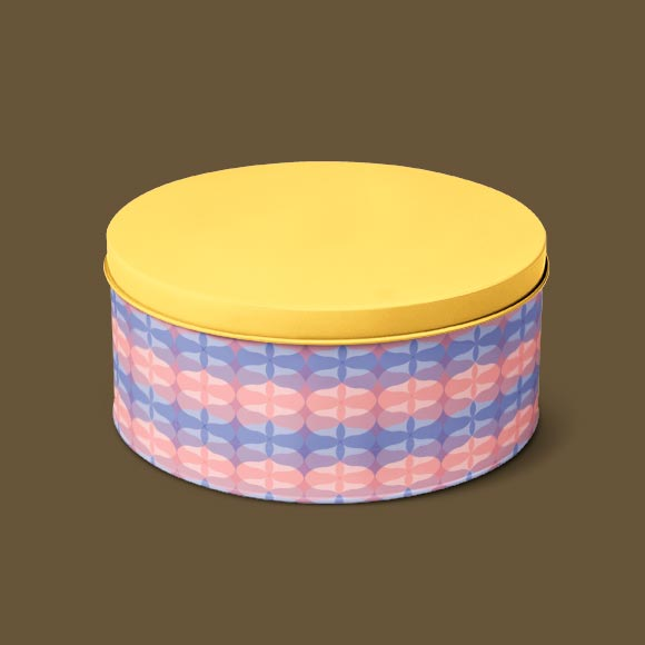 Abstract geometric shapes tiffin box