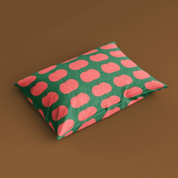 Apple Fruit Pillow Cover Print