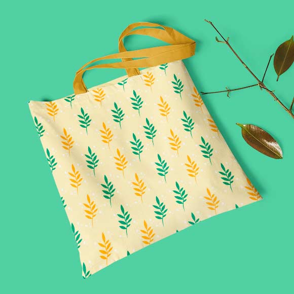 ash leaves hand bag