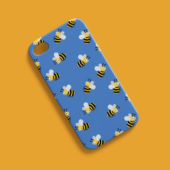 Honey Bees Phone Case