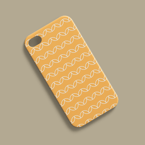Phone Case with geometric circles. Eps fil format.