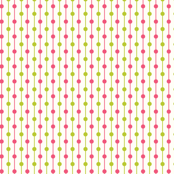 Green and pink dot lines seamless vector pattern