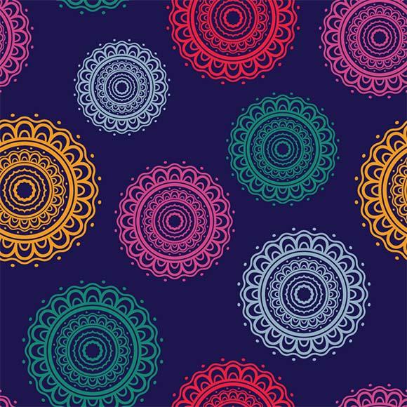 Indian block print texture