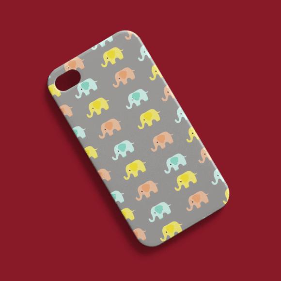 Baby Elephants Phone Cover Design