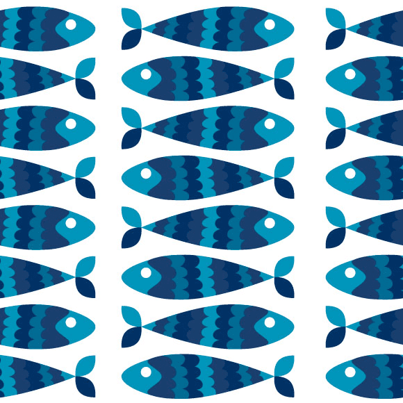 Fish Vector Pattern