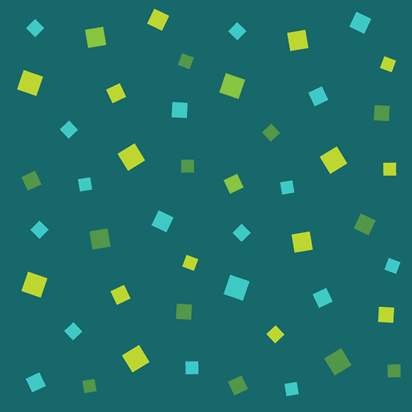Colorful squares seamless vector shape pattern