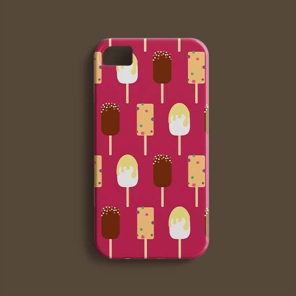 ice cream background phone cover