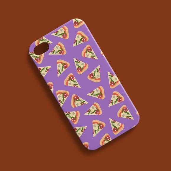Pizza slices phone case