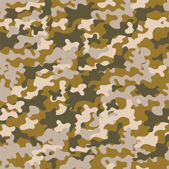 Operational camouflage vector pattern. Seamless fashionable background