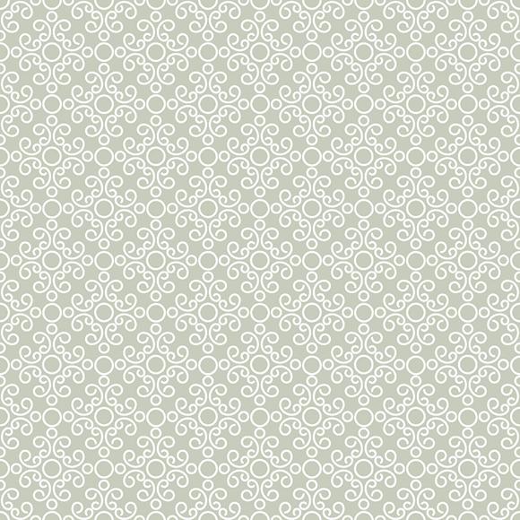 grayish yellow ornament seamless pattern