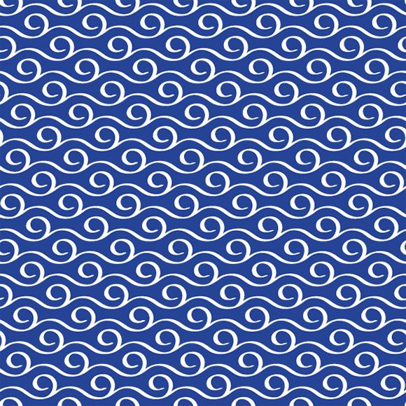 Seamless Sea Wave Pattern