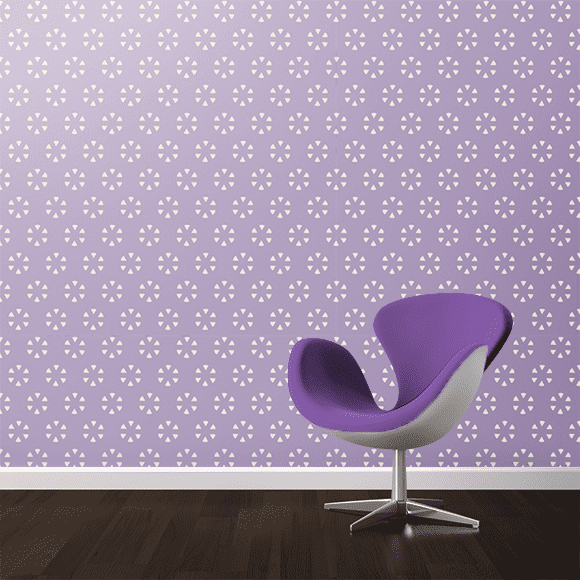 Subtle Pattern with Violet Background Wall Texture