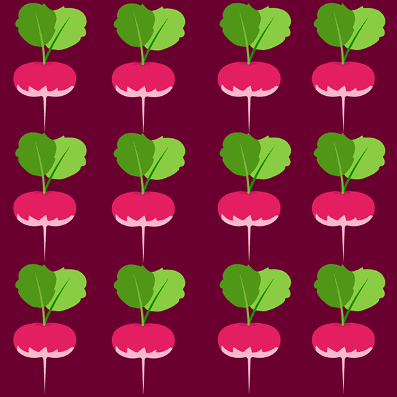 Seamless Turnip Pattern