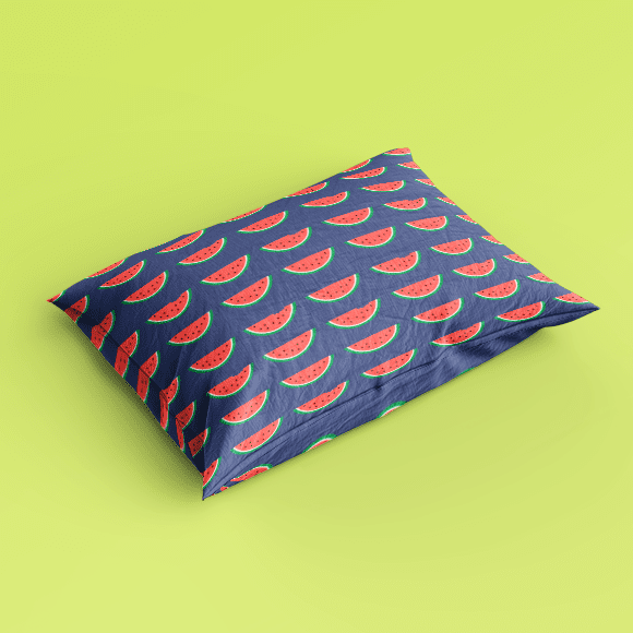 Watermelon Slice Pillow Cover
