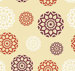 Ajrakh Block Print