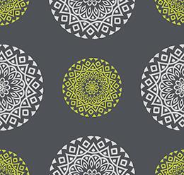 Block Printed Pattern