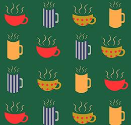 Coffee Mugs Pattern