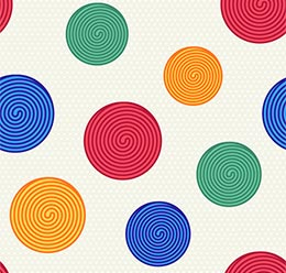 Colorful Swirls Pattern