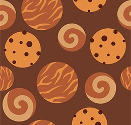 Delicious Cookies Pattern