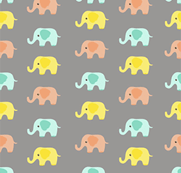 Baby Elephants Pattern
