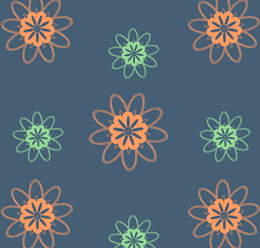Ethnic Doodle Pattern