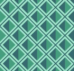 Geometric Diamond Print