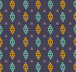 Rhombuses Tribal Pattern