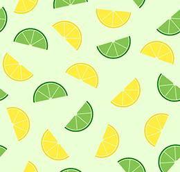 Lemon Fruit Pattern