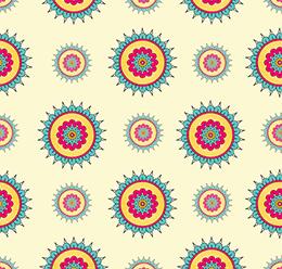 Oriental Mandala Pattern