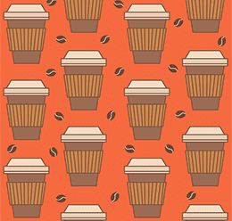 Paper Coffee Cup Pattern