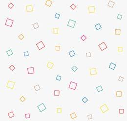 Random Abstract Squares Line