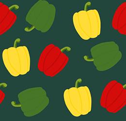 Seamless Bell Pepper