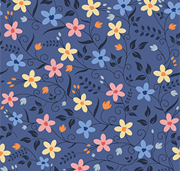 Seamless Flower Print