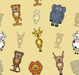 Summer Animal Pattern