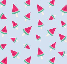Summer Seamless Fruit Pattern