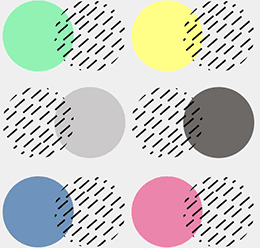 Abstract Circles Pattern