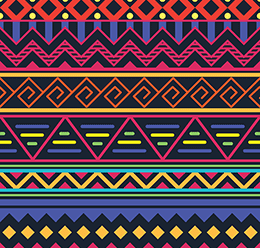 Tribal Pattern Print