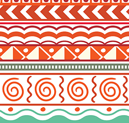 Tribal Striped Pattern