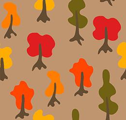 Cartoon Trees Patterns