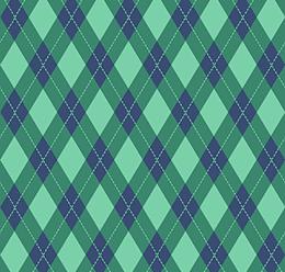 Vintage Argyle Pattern