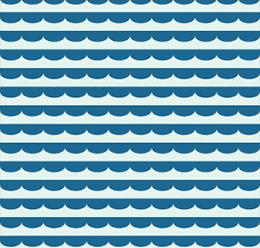 Half Circle Wave Pattern