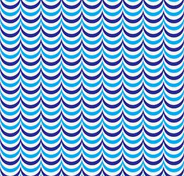 Circular Wave Pattern