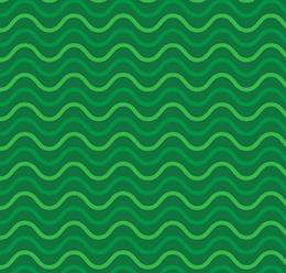 Green Ocean Wave Pattern
